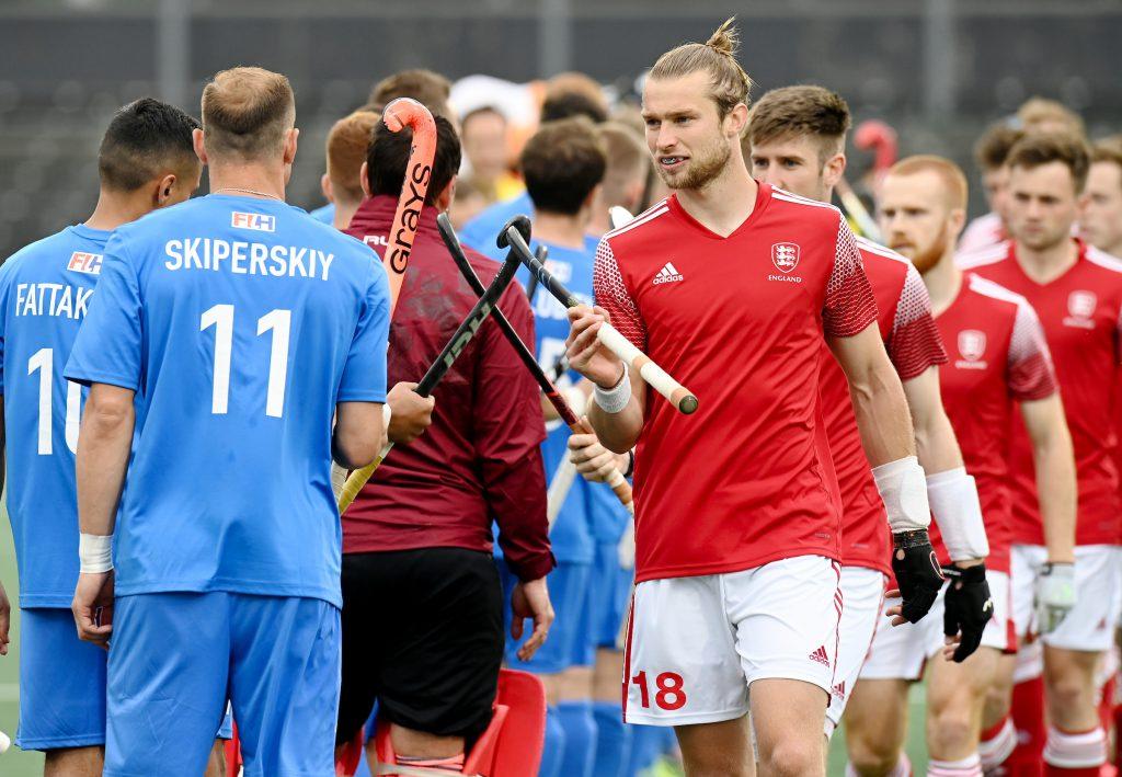 AMSTERDAM - EuroHockey Championships 2021 03 England - Russia  Photo: Brendan Creed. COPYRIGHT WORLDSPORTPICS FRANK UIJLENBROEK